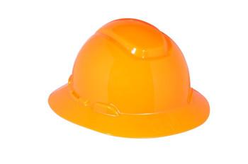 3M Full Brim Hard Hat H-807R - Hi-Vis Orange 4-Point Ratchet Suspension - 20 EA/Case