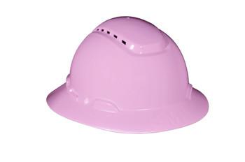 3M Full Brim Hard Hat H-813V - Pink - 4-Point Ratchet Suspension - Vented - 20 EA/Case