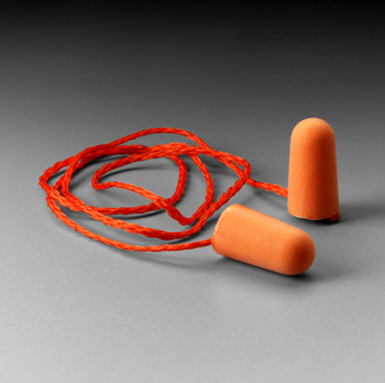 3M Corded Foam Earplugs 1110 100/Box