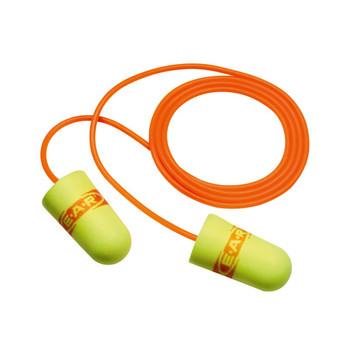 3M E-A-Rsoft SuperFit Corded Earplugs 311-1254, in Poly Bag Regular Size 2000 EA/Case