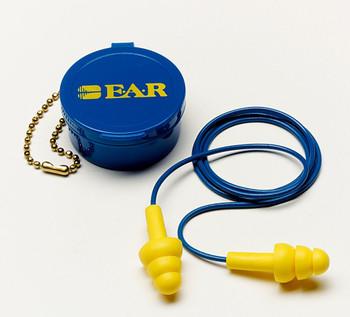 3M E-A-R UltraFit Corded Earplugs 340-4002, in Carrying Case 200 EA/Case