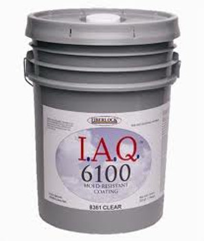 Fiberlock IAQ 6100 Mold Coating - Clear - 5 gallon
