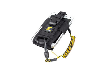 Python Safety™ Adjustable Radio Holster with Clip2Loop Coil and Micro D-Ring - 1500089