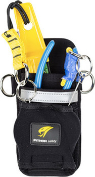 Python Safety Dual Tool Holster with 2 Retractors - Harness - 1500109