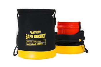 Python Safety Long Safe Bucket 100lb Load Rated Hook and Loop Canvas - 4 ft (1.2 m) - 1500136