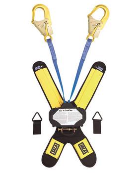 3M DBI-SALA 6 ft Talon Twin - Leg Quick Connect Self Retracting Lifeline - Web - 3102000