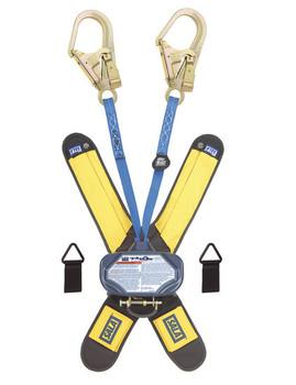 3M DBI-SALA 6 ft Talon Twin - Leg Quick Connect Self Retracting Lifeline - Web - 3102003