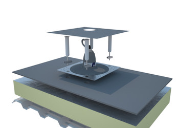 2100140 Roof Top Anchor for PVC Membrane and Built-Up Roofs