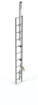 Lad-Saf Fixed Ladder Safety System