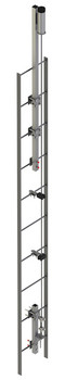 Lad-Saf for Fixed Ladder (Bolt-On) - Stainless Steel