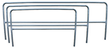 Galvanized Guardrail Sections