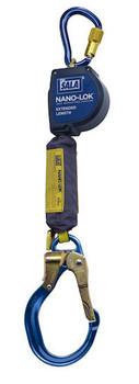 3M DBI-SALA 9 ft Nano - Lok Extended Length Self Retracting Lifeline with Anchor Hook - Web - 3101595