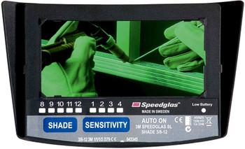 3M Speedglas Auto-Darkening Filter SL 05-0000-41, Shade 8-12 1 EA/Case