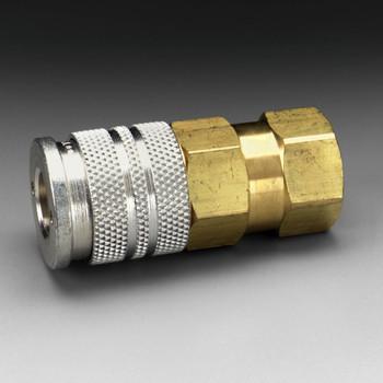 3M Socket W-3280-2, 1/4 in Body Size, 1/4 in FPT, Industrial Interchange 2 EA/Case