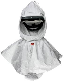 3M Hood H-410-10/07037(AAD), with Collar, QC 10 EA/Case