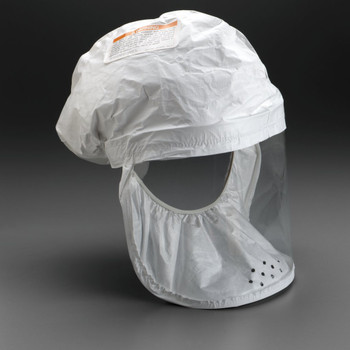 3M Head Cover BE-12-50 (Formerly 522-02-00R50) White, Regular, fabric with polyethylene coating 50 EA/Case