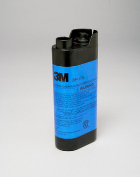 This intrinsically safe, rechargeable nickel cadmium (NiCd) battery pack can only be used with certain 3M™ Cartridges and Filters. <br><br> For the 3M™ Breathe Easy™ System, choose one of the following cartridges/filter: (bul) 3M™ Organic Vapor Cartridge 456-00-01R06, A (bul) 3M™ Formaldehyde/Chlorine/Hydrogen Chloride/Sulfur Dioxide Cartridge 456-02-01R06, E (bul) 3M™ Ammonia/Methylamine Cartridge 456-01-01R06, K (bul) 3M™ Organic Vapor/Chlorine/Hydrogen Chloride/Sulfur Dioxide Cartridge 456-03-01R06, AE (bul) 3M™ High Efficiency Cartridge 450-00-01R12, P3 <br><br> For the 3M™ Powerflow PAPR System: (bul) 3M™ High Efficiency Filter 450-01-01R20, SP3