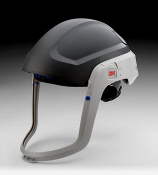 The M-301 hardhat does not include a visor or faceseal, allowing the customer to choose the exact combination that meets their needs.