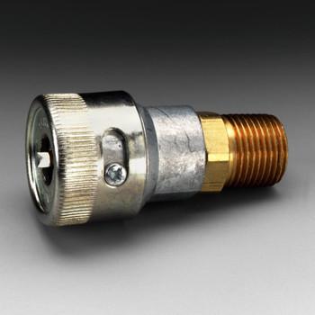 3M Socket W-3182-2, 1/4 in Body Size, 3/8 in MPT, Schrader 2 EA/Case