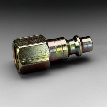 3M Plug W-3080-2, 1/4 in Body Size, 1/4 in FPT, Industrial Interchange 2 EA/Case