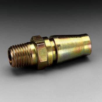 3M Versaflo Plug W-3251-2, 1/2 in Body Size, 1/4 in MPT, Schrader 2 EA/Case