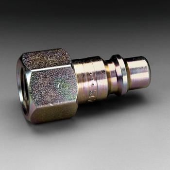 3M Plug W-3057-2/07155(AAD), 3/8 in Body Size, 3/8 in FPT, Industrial Interchange 2 EA/Case
