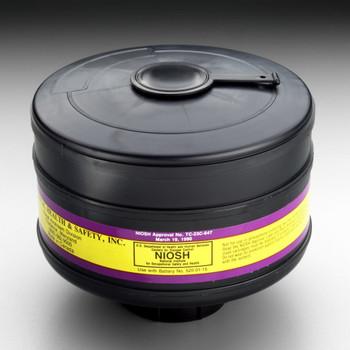 3M Organic Vapor/Chlorine/Hydrogen Chloride/Sulfur Dioxide/High Efficiency Cartridge 453-03-01R06, AEP3 6 EA/Case