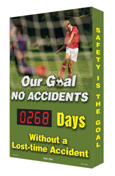 Our Goal No Accidents #### Days Without A Lost-Time Accident  - SCA268