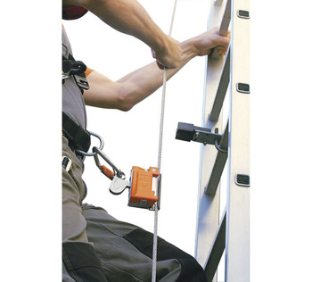 Miller Vi-Go Ladder Climbing Safety System with Automatic Pass-Through (Cable)