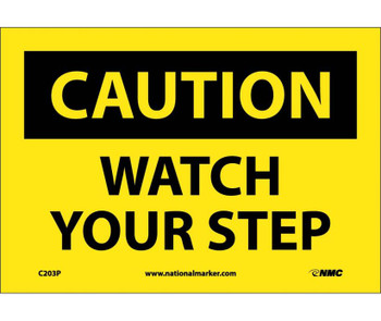 Caution Watch Your Step 7X10 Ps Vinyl
