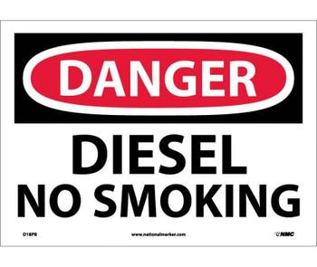 Danger Diesel No Smoking 10X14 Ps Vinyl