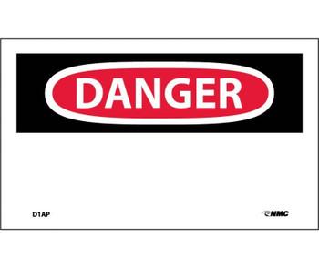 Danger (Header Only) 3X5 Ps Vinyl 5/Pk