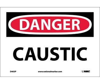Danger Caustic 7X10 Ps Vinyl