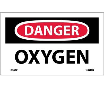 Danger Oxygen 3X5 Ps Vinyl 5Pk