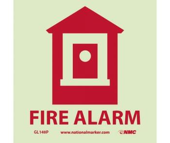 Fire Fire Alarm 7X7 Ps Vinylglow