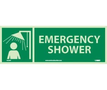 Emergency Shower 5X14 Ps Glow