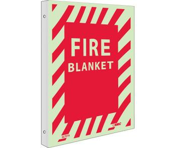 Fire Fire Blanket 12X9 Plastic Flangedglow