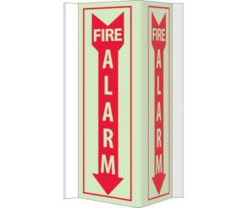 Fire Visi Fire Alarm 16X8.75 Acrylicglow