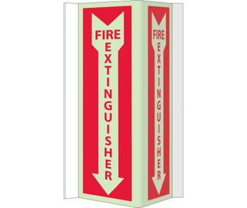 Fire Visi Fire Extinguisher 16X8.75 Acrylicglow