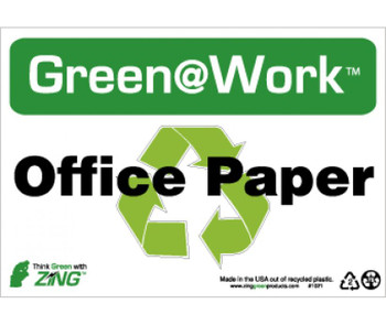 Office Paper 7X10 Recycle Plastic