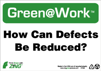 How Can Defects Be Reduced 7X10 Recycle Plastic