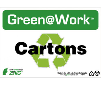 Cartons 7X10 Recycle Plastic