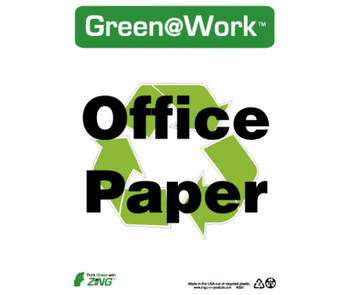 Office Paper 14X10 Recycle Plastic