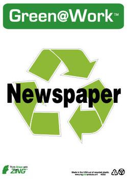 Newspaper 14X10 Recycle Plastic