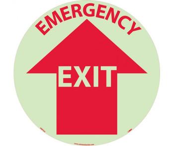Floor Sign Walk On Emergency Exit 17 Diaglow