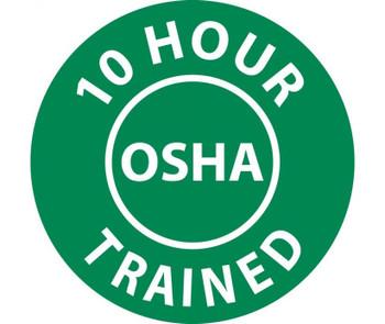 """10 Hour Osha Trained 2"""" Dia Ps Vinyl 25/Pk"""