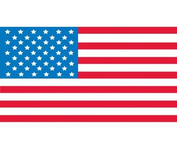 (Graphic American Flag) 7/8 X 1 5/8. Ps Vinyl