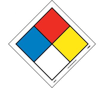 Hazardous Materials Systems Label 3.125 X 3.125 Ps Vinyl Pak5