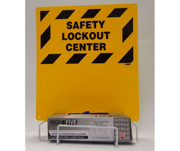 Electrical Lockout Backboard And Rack 16 X 14