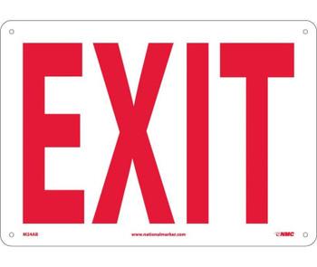 Exit 10X14 .040 Alum